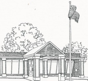 Sketch of Hueytown Public Library